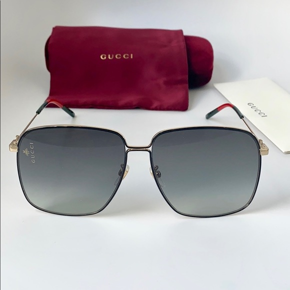 da79fc9d4f Gucci Women Sunglasses GG0394S-001 Gold   Grey